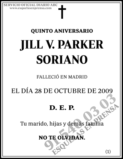 Jill V. Parker Soriano